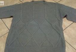 swetr męski- robota ręczna