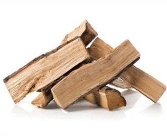 drewno kominkowe, gotowe łupane