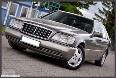 Mercedes-Benz Klasa S W140 __Legenda Wciąż Żywa__3.5 DIESEL_AUTOMAT_Skóry* Klimatyzacja* SALON