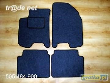 Chevrolet Lacetti od 2003r. najwyższej jakości dywaniki samochodowe z grubego weluru z gumą od spodu, dedykowane Chevrolet Lacetti