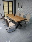 stół dębowy,drewniany do jadalni,lokalu,restauracji