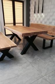 stół dębowy,drewniany do jadalni,lokalu,restauracji -3