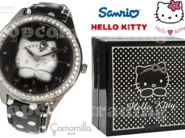 HELLO KITTY London Black Watch ZEGAREK Made in Italia-1