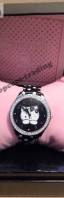 HELLO KITTY London Black Watch ZEGAREK Made in Italia-4