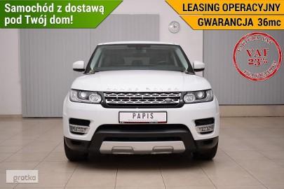 Land Rover Range Rover Sport VAT23% TDV6 AWD Nawigacja Skórzana tapicerka Kamera Cofania PAPIS