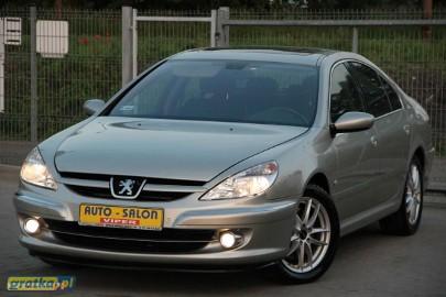Peugeot 607 KLIMA,PARKTRONIC,zarejestrowany