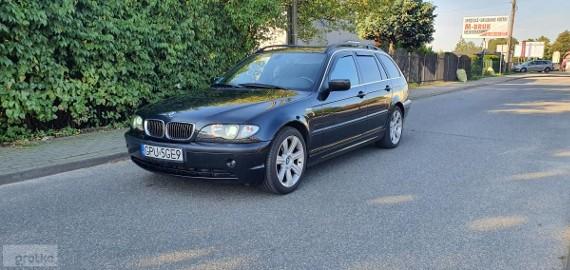 BMW SERIA 3 IV (E46) 318D / Skóra / Nawi / Kamera / Xenony !!