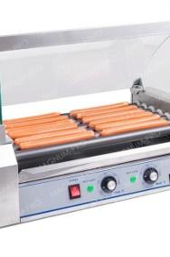 Rolkowy podgrzewacz do parówek HOT-DOG opiekacz 7 rolek teflon-2