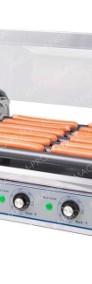 Rolkowy podgrzewacz do parówek HOT-DOG opiekacz 7 rolek teflon-3