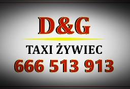 Taxi Żywiec D&G  Taxi Korbielów Taksówka Taxi D&G Żywiec Dworzec