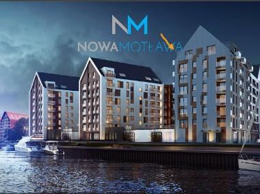 Mieszkanie Gdańsk Stare Miasto, najlepsze małe w kompleksie Nowa Motława!-1