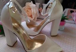 (40) ASOS/Ekskluzywne buty ślubne/ czółenka w szpic/ 25,5 cm/ NOWE