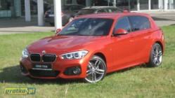 BMW SERIA 1 118 BMW F20 118d LCI