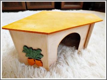 Domek Narożny dla gryzoni lub jeżyka, jeż pigmejski IDEAŁ!