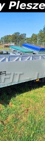 RD-020 przyczepa 600x150x35cm, dłużyca do przewozu długich elementów, belek, rur, hamowana, DMC 2700kg-4