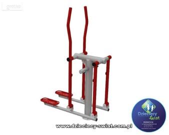 Narciarz siłownia zewnętrzna fitness plac zabaw