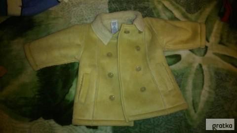 kożuch kurtka zimowa chłopięca 74 baby GAP