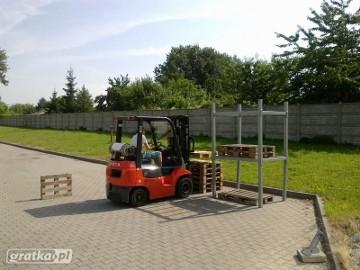 Kierowca wózków widłowych - KURS UDT.