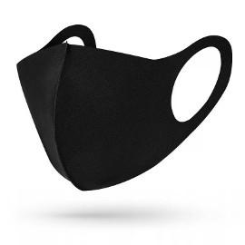 Maska ochronna na twarz maseczka wielorazowa czarna materiałowa