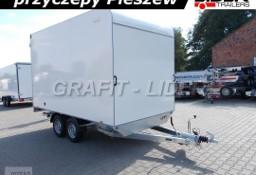 TP-065 przyczepa TFSP 360T.00 2,7t, 360x200x210cm, furgon izolowany, kontener, drzwi tylne, DMC 2700kg