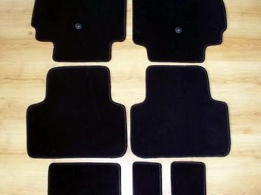Chevrolet Orlando od 2011 r. 3 rzędy najwyższej jakości dywaniki samochodowe z grubego weluru z gumą od spodu, dedykowane Chevrolet-1