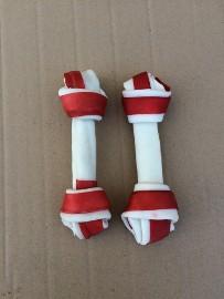 Kość wiązana biała bekon 16 cm - 4 sztuki
