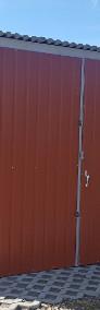Garaże blaszane, wiaty, hale, konstrukcje stalowe.-3