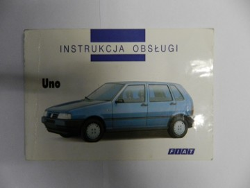 Poradnik. Oryginalna instrukcja obsługi Fiat Uno w j. polskim