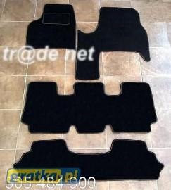 Citroen C8 od 2003 r. 7 osobowy najwyższej jakości dywaniki samochodowe z grubego weluru z gumą od spodu, dedykowane Citroen C8