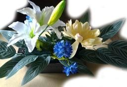Sztuczne Kwiaty - Ozdobią Dom, Balkon, Altankę lub Grób-Co Zechcesz... NOWE
