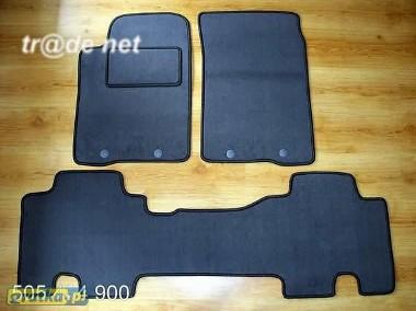 Ssang Yong RexKyron od 2007r. najwyższej jakości dywaniki samochodowe z grubego weluru z gumą od spodu, dedykowane Ssangyong Rodius-1