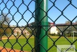 Siatka ogrodzenia 60x60x3,2mm h-150cm kolor zielony,czarny
