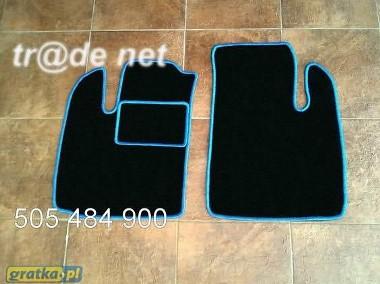 Fiat Doblo I cargo 2001-2010 najwyższej jakości dywaniki samochodowe z grubego weluru z gumą od spodu, dedykowane Fiat Doblo-1