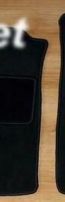 Fiat Doblo I cargo 2001-2010 najwyższej jakości dywaniki samochodowe z grubego weluru z gumą od spodu, dedykowane Fiat Doblo-4