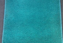 dywan owalny turkus 66 cm na 120 cm chodnik