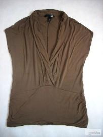 H&M KAWOWA kopertowa bluzka j NOWA 36 38 S M