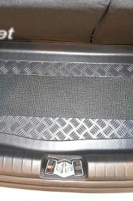 KIA PICANTO III (JA) od 04.2017 r. na dolną półkę bagażnika mata bagażnika - idealnie dopasowana do kształtu bagażnika Kia Picanto-2