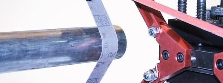 # Gratowarka, szlifierka taśmowa do wałków # -- tel 60273528-1