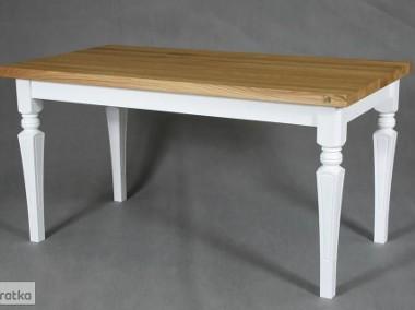 stół dębowy Floriano, styl angielski, lite drewno-1