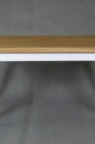 stół dębowy Floriano, styl angielski, lite drewno-2