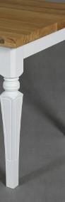 stół dębowy Floriano, styl angielski, lite drewno-3