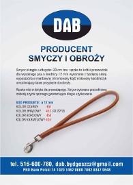 """SMYCZ ZE SKÓRY """"RĄCZKA""""-GRATIS WYSYŁKA-RĘKODZIEŁO !!!"""