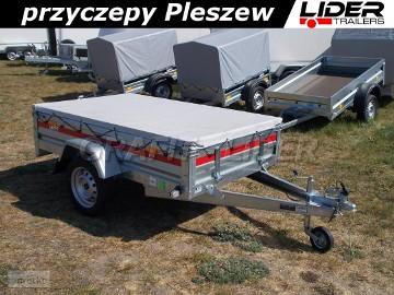 TM-210 przyczepa + plandeka 205x125x35cm, lekka PRO 2012, DMC 750kg