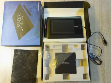 Sprzedam dobry sprawny tablet graficzny, pudełko, plytka, komplet BDB stan-1
