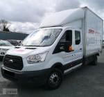 Ford Transit 2,2 125KM Kontener Doka Bliźniak Brygadowy Brygadó