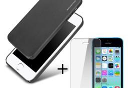 Apple iPhone 5 / 5S / SE Cienkie ETUI + Szkło 2,5D