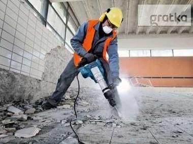 Wyburzanie ścian Skuwanie betonu płytek Wyburzenia-1