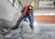 Wyburzanie ścian Skuwanie betonu płytek Wyburzenia