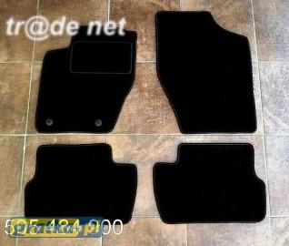 Citroen C4 2004-2011 3 i 5d HB najwyższej jakości dywaniki samochodowe z grubego weluru z gumą od spodu, dedykowane Citroen C4