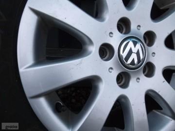 Volkswagen-Koła Alu Oryginalne Opony Zimowe Volkswagen Golf plus